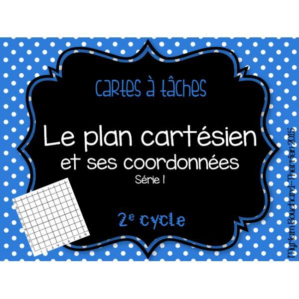 Cartes à tâches - Plan cartésien