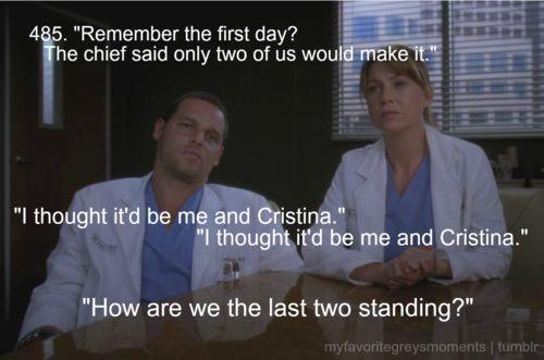 Grey's Anatomy - Alex  Meredith.