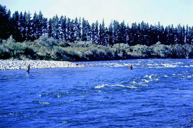 Tongariro River near Taupo, Nth Is New Zealand