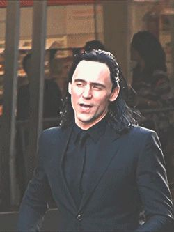 He's Loki. He just is