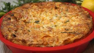 Фото к рецепту: Рваный Пирог из лаваша