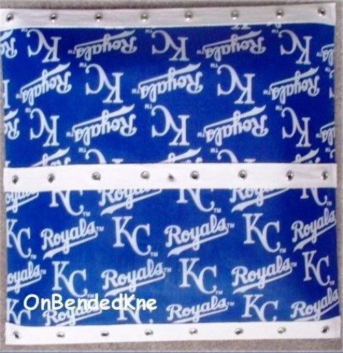 KANSAS City ROYALS MLB Square Ceiling Light Fixture By