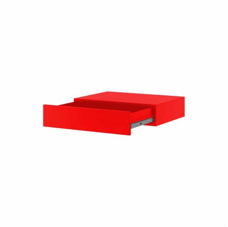 Home Flash półka szufladowa, lico metalowe
