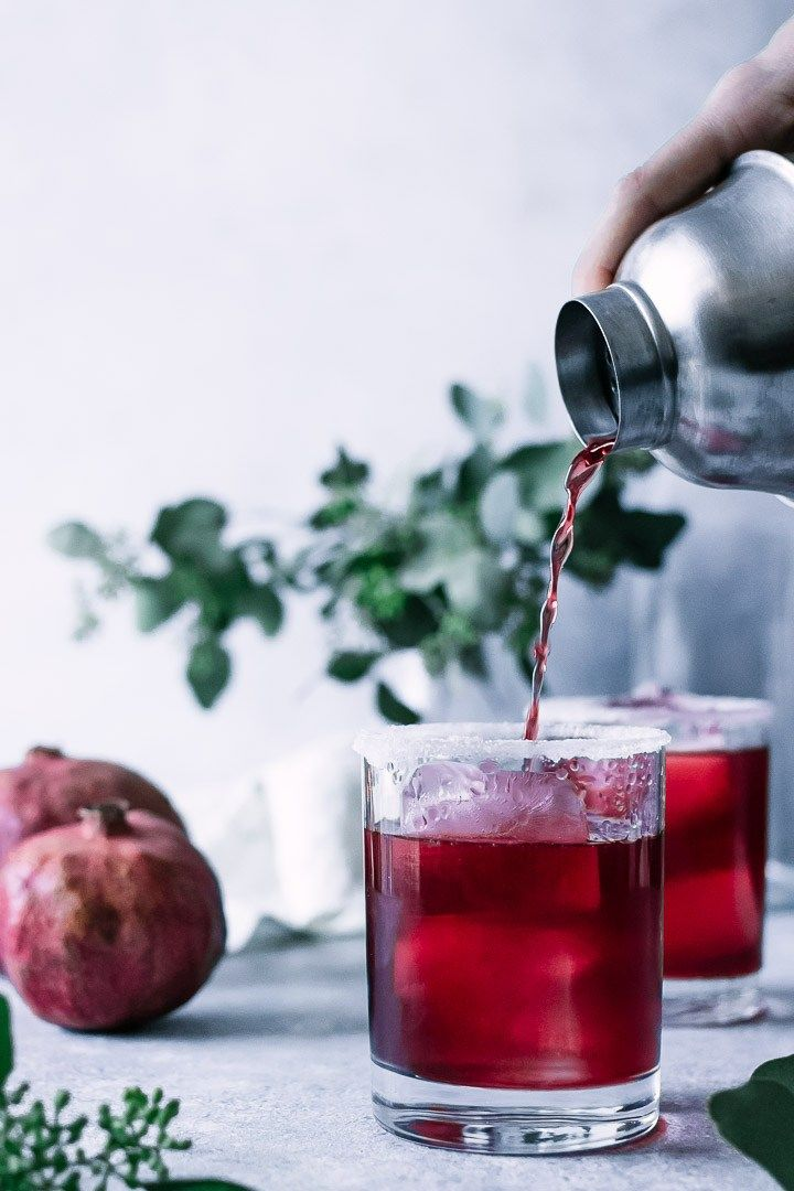 Perfect Pomegranate Margaritas