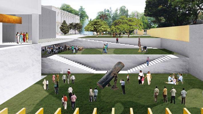 Mumbai City Museum Extension. OMA with Houtman + Sander (LA) (2104)