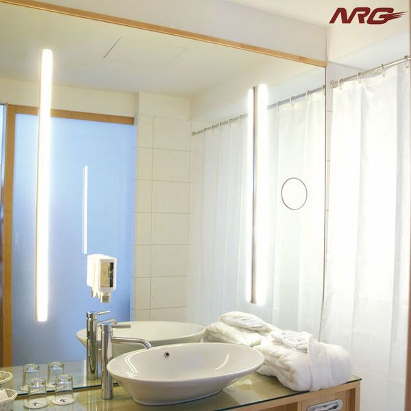17 best ideas about led mirror lights on pinterest small - Small bathroom mirrors with lights ...
