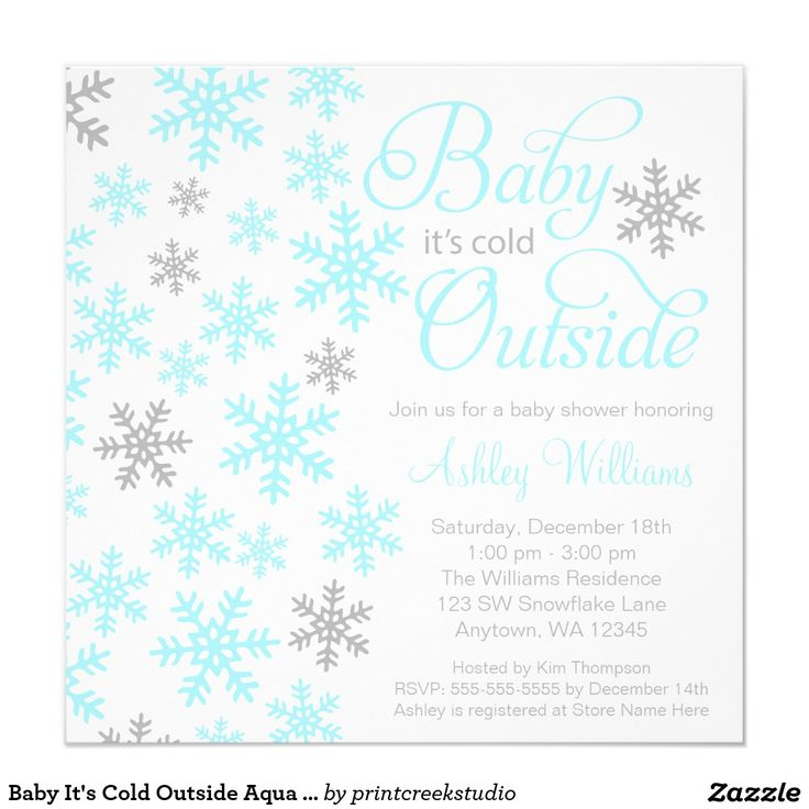 102 best Winter Baby Shower Ideas images on Pinterest | Winter baby ...