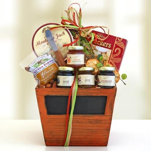9 best fruit and snacks images on pinterest basket ideas chalked full of snacks basket negle Gallery