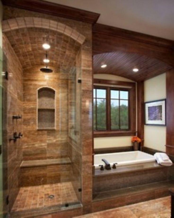 Photo On Luxurious tuscan bathroom decor ideas