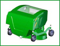 Collecting Lawn Mower 1500