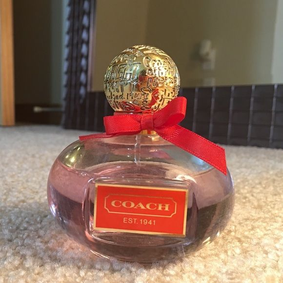Coach Poppy Perfume! Coach Poppy Perfume! 3.4 Oz, I would say 85% full (shown in picture). Smells great I just use others more! Coach Accessories