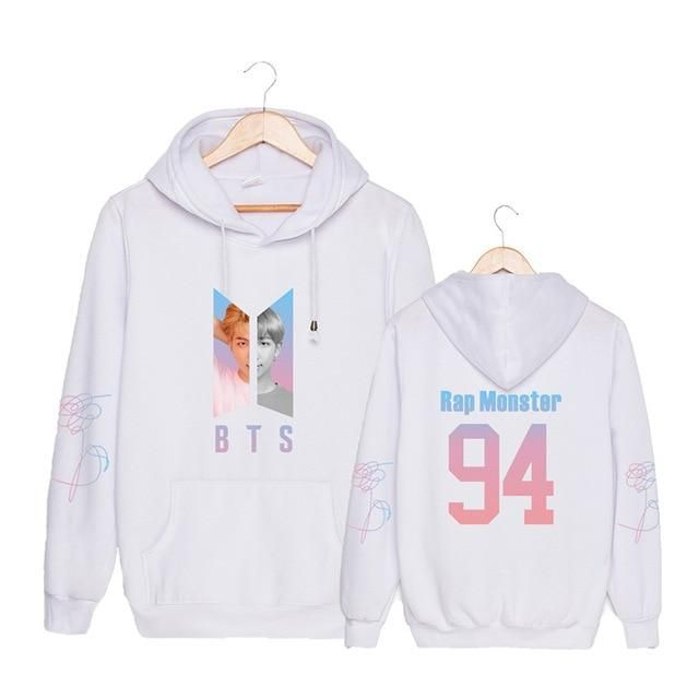 KPOP BTS Bangtan Love Yourself Hoodie Damen Pullover JUNGKOOK Sweatshirt Jumper