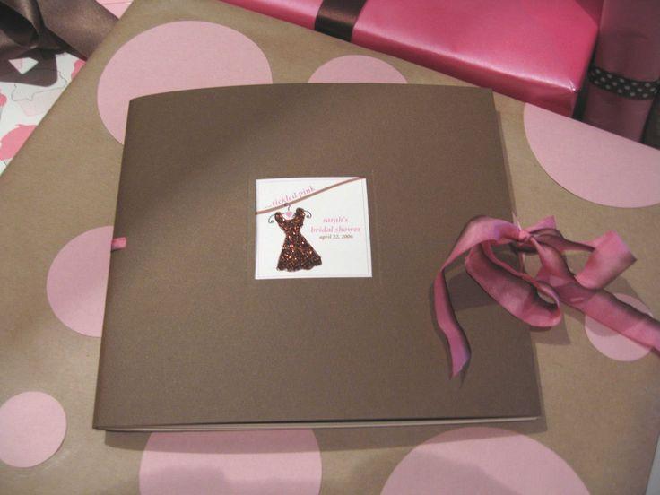 bridal shower idea | ... 37: Bridal Shower Scrapbook - Elizabeth Anne Designs: The Wedding Blog