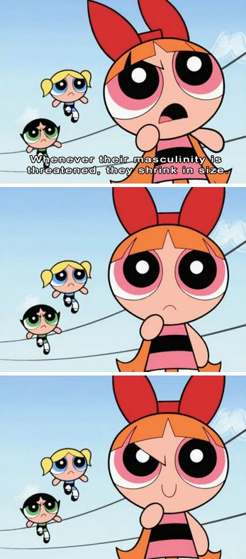 <b>WARNING: This post might cause the intense urge to watch <i>The Powerpuff Girls</i> immediately.</b>
