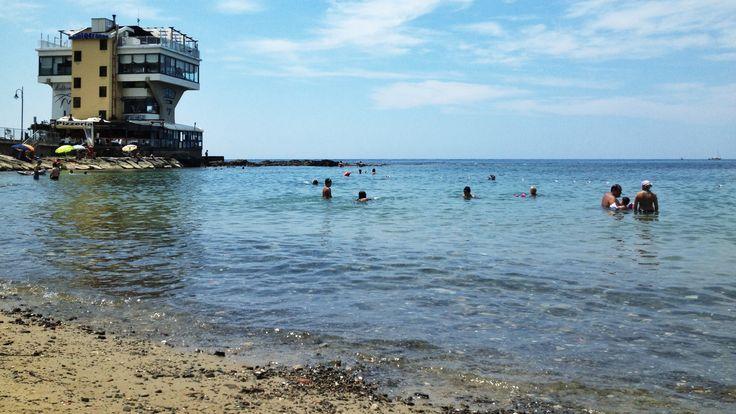 Acciaroli's beach