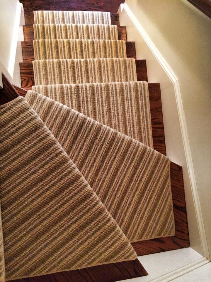 This Striped Rug Continues To Be One Of Our Most Popular Stair Runners.
