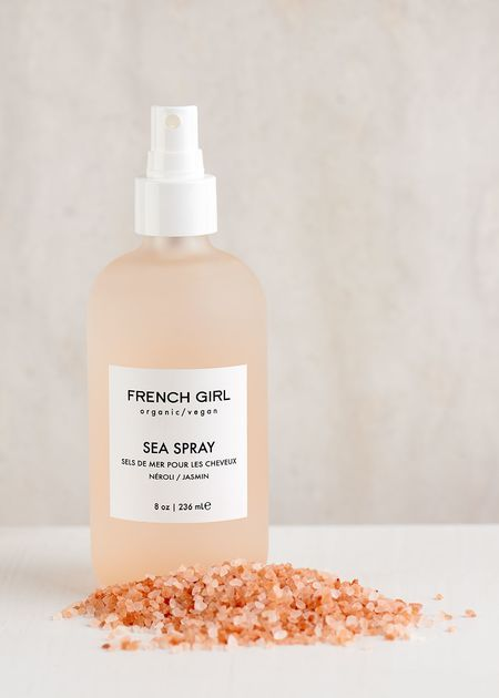 Just featured in the @marieclaire September issue, French Girl Organic Sea Spray for your hair. Perfect for tousling and texturizing!