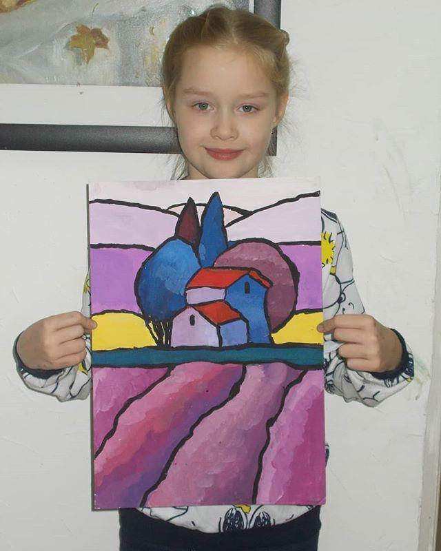 Detskaya Gruppa 9 10 Let Pedagog Bogdanova Alla Yurevna Art Zs Ru Kursyrisovaniya Urokiris Childrens Art Projects Elementary Art Projects Art Drawings For Kids