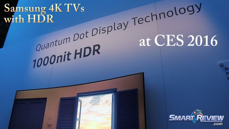 nice CES 2016 | *New Samsung 4K TVs | 4K HDR & Blu-ray |  Quantum Dot | SUHD Ultra HD TV Lineup | Check more at http://gadgetsnetworks.com/ces-2016-new-samsung-4k-tvs-4k-hdr-blu-ray-quantum-dot-suhd-ultra-hd-tv-lineup/