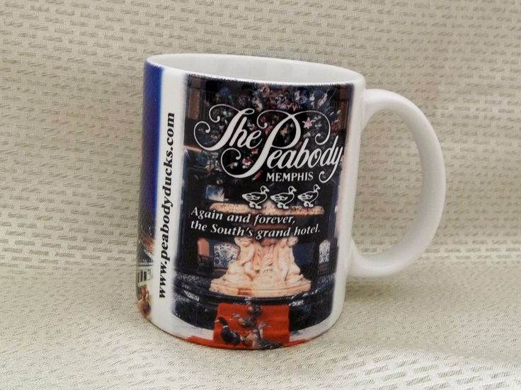 The Peabody Hotel Memphis Coffee Mug The Legends Of The Ducks Cup Tennessee