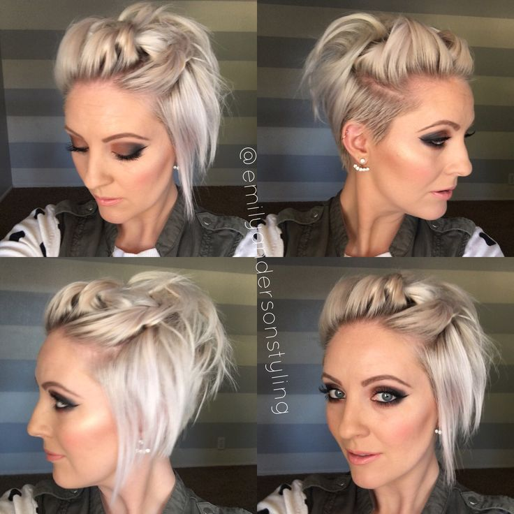 Party Jordan Hairstyles For Short Hair : Top 25 best emily anderson ideas on pinterest short hairstyle