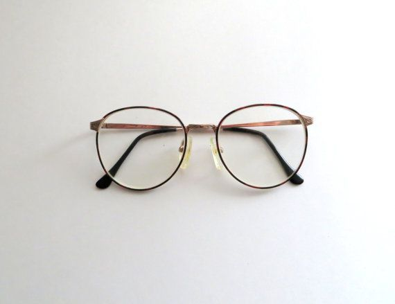 80's Wire Rim Glasses Tortoise