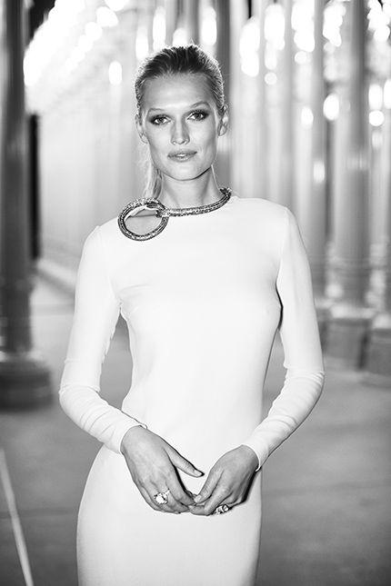 Toni Garrn in Gucci