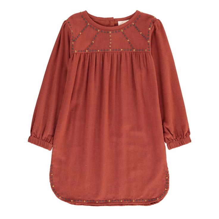 Prisca Embroidered Dress-product