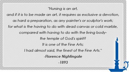 florance nightingale quote nurse tattoos | National Association for Home Care Center for Medicare and Medicaid ...