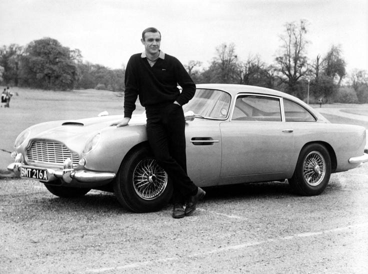 James Bonds Astin Martin from Goldfinger