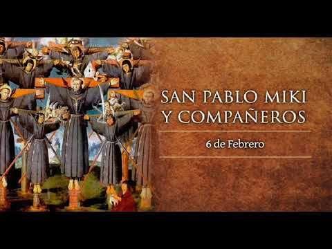 El Rincon de mi Espiritu: El santo del día 6 de Febrero:  San Pablo Miki y c...