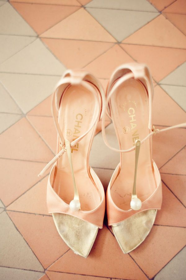 Pretty Chanel: Teen Fashion, Wedding Shoes, Wedding Ideas, Peaches Wedding, Gorgeous Heels, Peaches Shoes, Chanel Shoes, Chanel Pink, Vintage Chanel