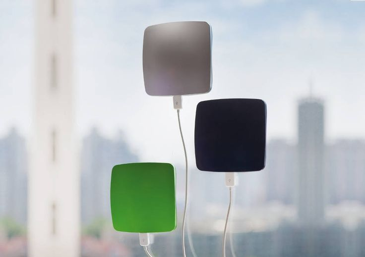 Incarcator Solar Fereastra -- Un bijou eco-util!   Smuff — Magazinul de traznai