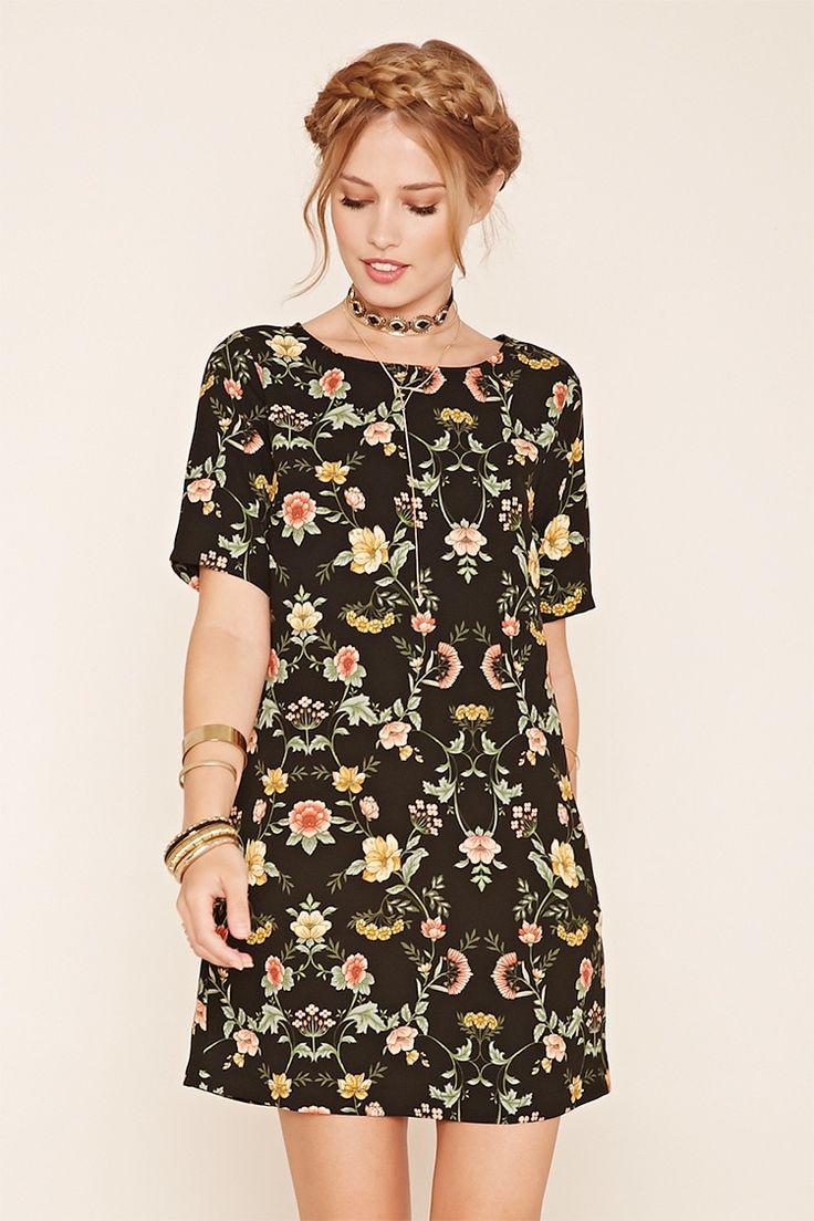 Contemporary Floral Dress