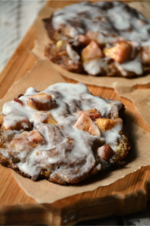 Apple Fritter - Low Carb - Paleo (only 4 net carbs per fritter!)