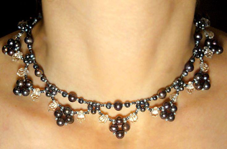 Free bead pattern..beautiful necklace