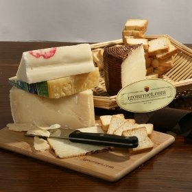 Cheeses from the Italian Countryside Gift Tray - FREE SHIPPING (4.9 pound)Gourmet Food, Free Ships, Chees Gift, Gift Trays, Italian Countryside, Gourmet Chees, Ships 4 9, 4 9 Pound, Countryside Gift
