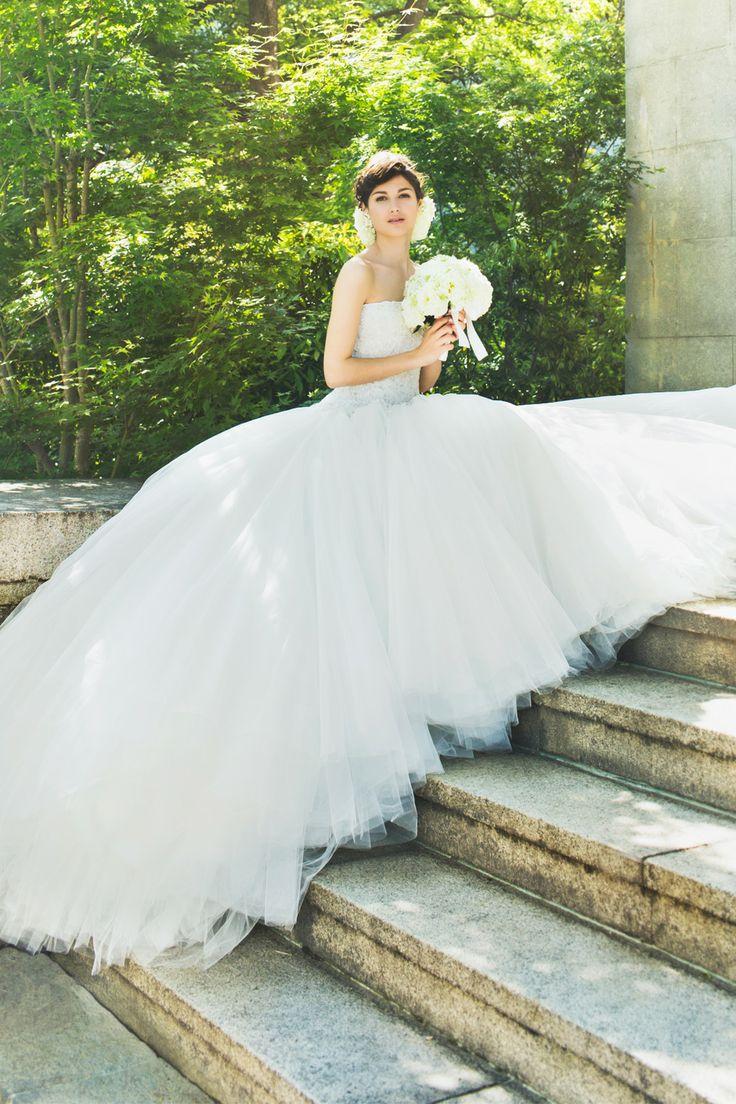 BTNV170 #NOVARESE #weddingdress #ノバレーゼ #ウエディングドレス #ノバレーゼ #プリンセスライン #チュール