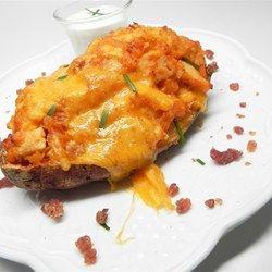 Buffalo Chicken Twice-Baked Potatoes - Allrecipes.com
