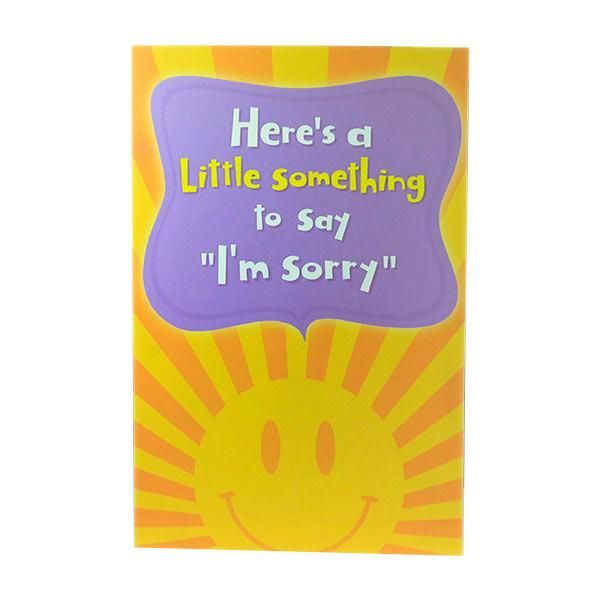 """Sorry Card For Girlfriend  Here's a little something to say """"I'm sorry"""" Hilarious monkey holding flowers! P.S It works every time you open it. Card size : 22 cm X 14.5 cm 