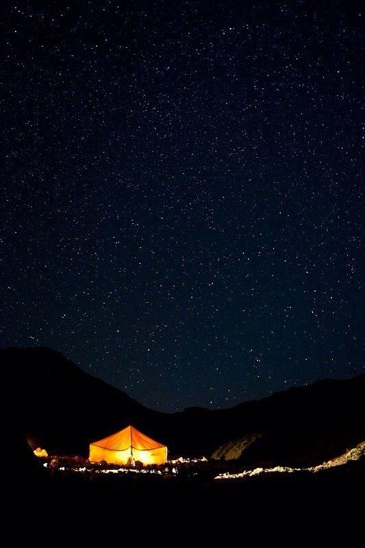 DESERT NIGHT SKY MERZOUGA, MOROCCO.