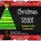 Scoot is a popular game played in many elementary school classrooms. Easily adapted to any content area and grade level, Scoot makes for a welcome change from just completing a worksheet for skill practice. This Scoot is designed to give students practice with identifying complete and simple subjects and predicates in Christmas themed sentences.