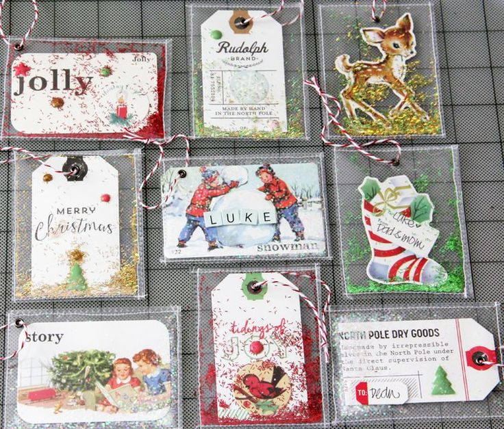 Under the Tree: Confetti Gift Tags | Guest Designer : Janice Matsunaga