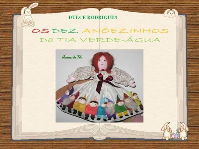 Os Dez Anõezinhos da Tia Verde-Agua by dulcerodrigues via authorSTREAM