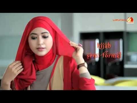 Tutorial Jilbab Pashmina Untuk Acara Semi Formal | Natasha Farani | Tuto...