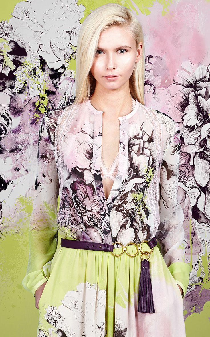 Roberto Cavalli Pre-Fall 2016 - Preorder now on Moda Operandi