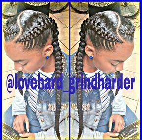 The 25 best two goddess braids ideas on pinterest 2 cornrow two french braids urmus Images