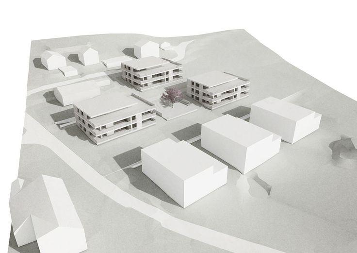 Wohnüberbauung Münzentalstrasse, Hausen AG « Projekte « architektur herrigel schmidlin