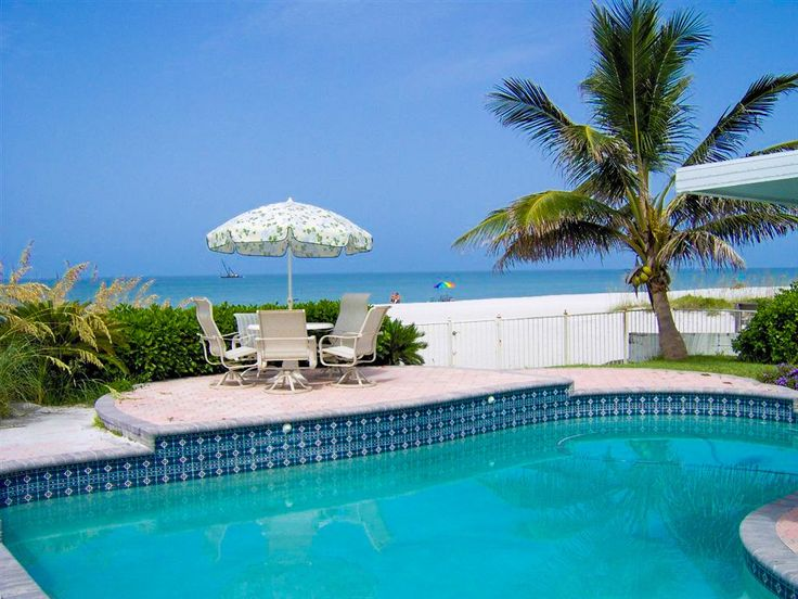Clearwater Beach House Rental The Sunset Front Home W Private Pool Hot Tub
