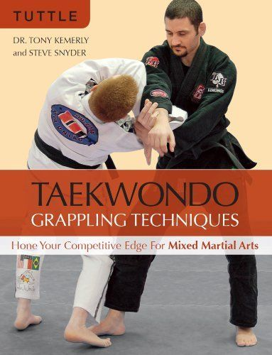 This is a pretty good book, makes you think of alternate applications for things you all should already know ;)    Taekwondo Grappling Techniques: Hone Your Competitive Edge for Mixed Martial Arts by Tony Kemerly. $24.58. Author: Tony Kemerly. 208 pages. Publisher: Tuttle Publishing; Original edition (August 21, 2012)